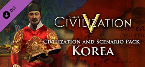 Civilization V Civ and Scenario Pack Korea PC