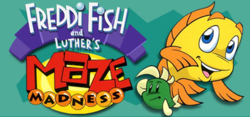 Freddi Fish and Luther's Maze Madness PC