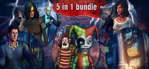 Hidden Object Bundle 5 in 1 PC