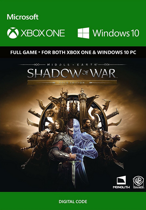 Middle-Earth: Shadow of War Gold Edition Xbox One / PC