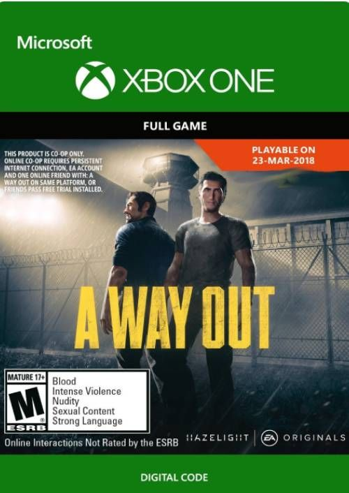 A Way Out Xbox One (UK)
