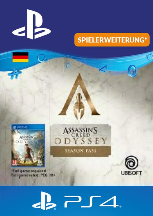 Assasins Creed Odyssey Season Pass PS4 (Germany)