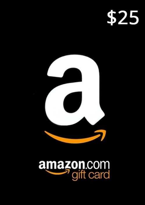 Amazon 25 USD Gift Card