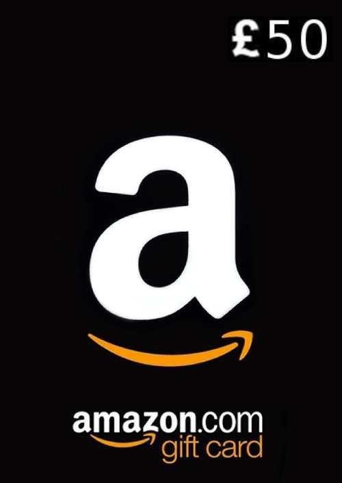 Amazon 50 GBP Gift Card
