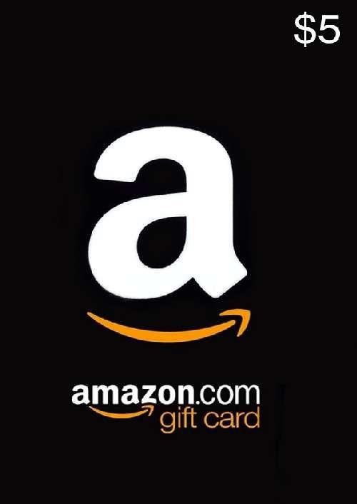Amazon 5 USD Gift Card