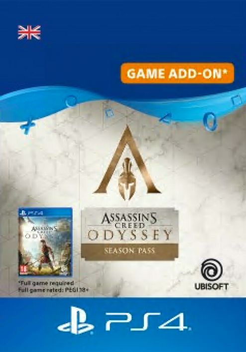 Assassins Creed Odyssey - Season Pass PS4