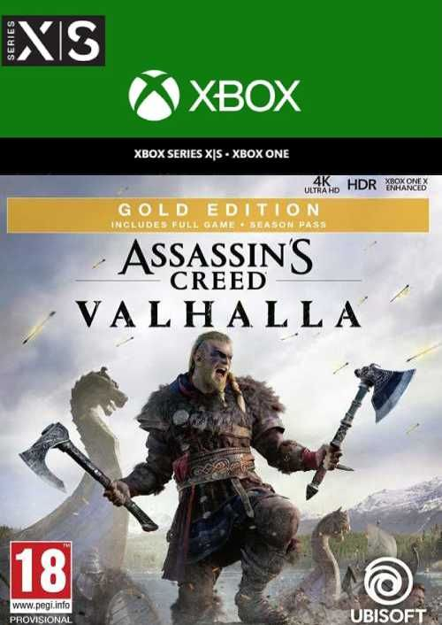 Assassin's Creed Valhalla Gold Edition Xbox One/Xbox Series X|S  (US)