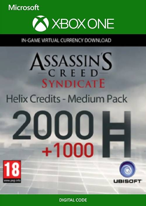 Assassin's Creed Syndicate - Helix Credit Medium Pack Xbox One