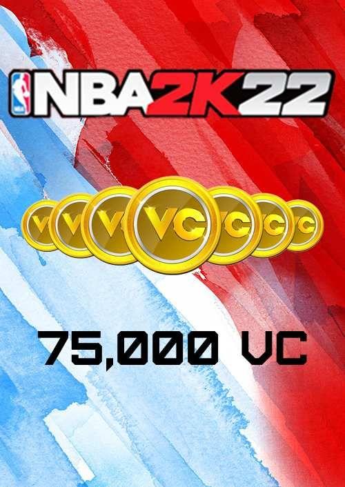 NBA 2K22 75,000 VC Xbox One/ Xbox Series X|S (EU)