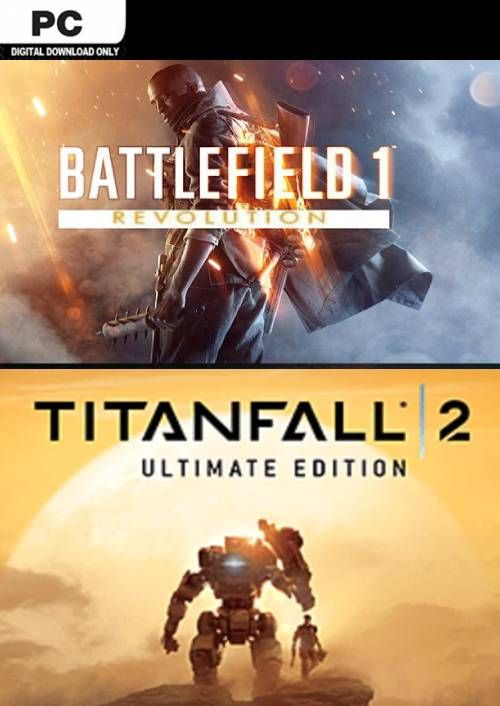 Battlefield One Revolution and Titanfall 2 Ultimate Edition Bundle PC