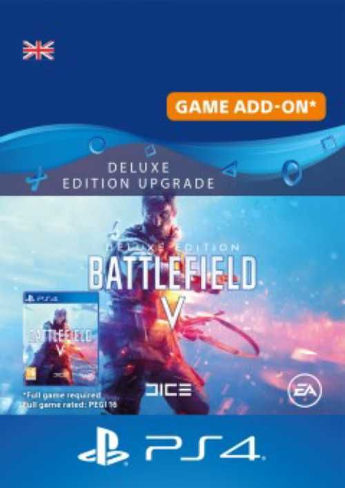 Battlefield V 5 Deluxe Edition Upgrade PS4