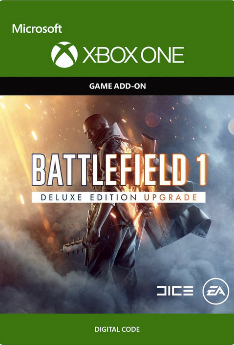 Battlefield 1 Deluxe Edition UPGRADE Xbox One