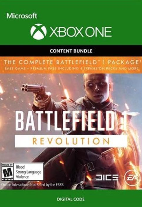 Battlefield 1 Revolution for Xbox One [Digital Download]