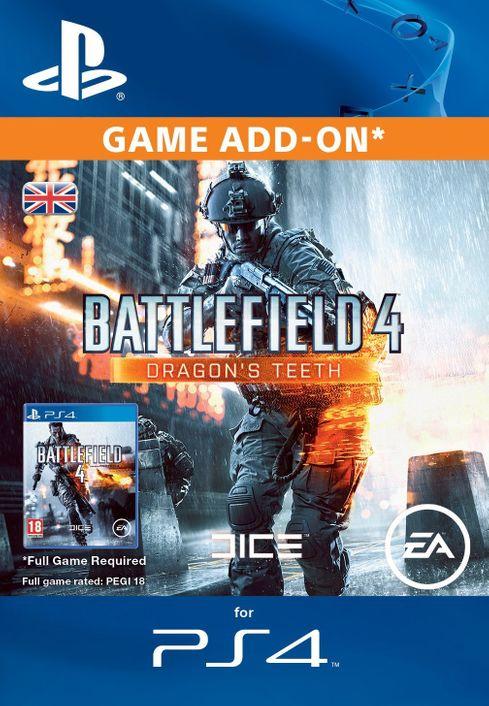 Battlefield 4 Dragons Teeth DLC PS4