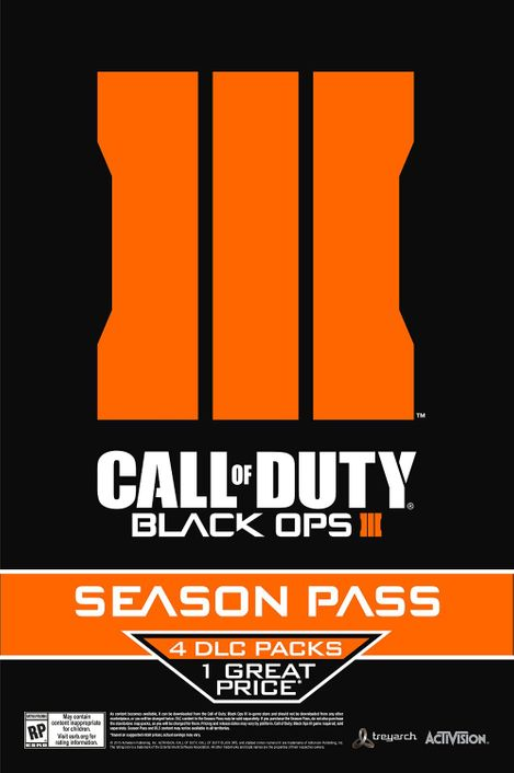 Call of Duty (COD): Black Ops III 3 Season Pass (PC)