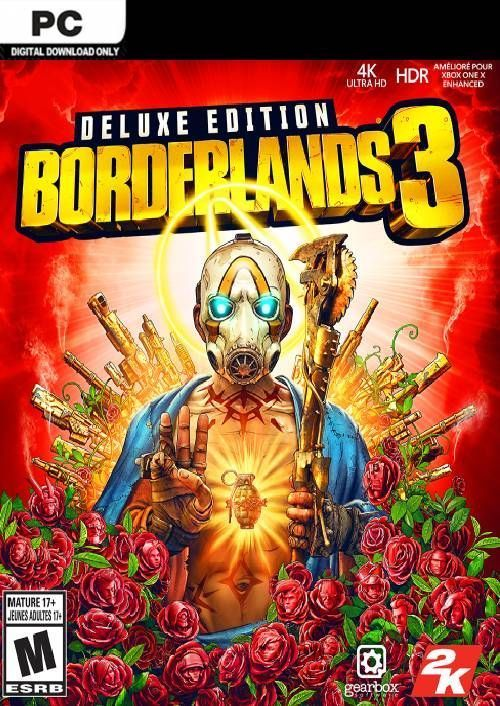 Borderlands 3 Deluxe Edition PC + DLC (US/AUS/JP)