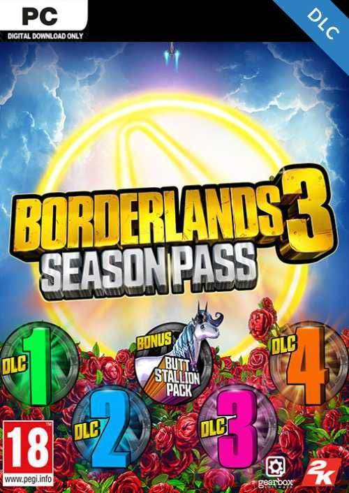 Borderlands 3 - Season Pass PC EU (Epic Games)