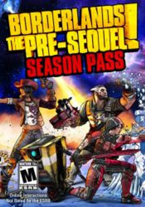 Borderlands The Pre-Sequel Season Pass PC (WW)