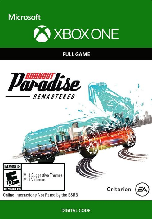 burnout paradise remastered xbox one cd key key. Black Bedroom Furniture Sets. Home Design Ideas
