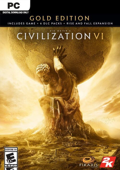 Sid Meiers Civilization VI 6 Gold Edition PC