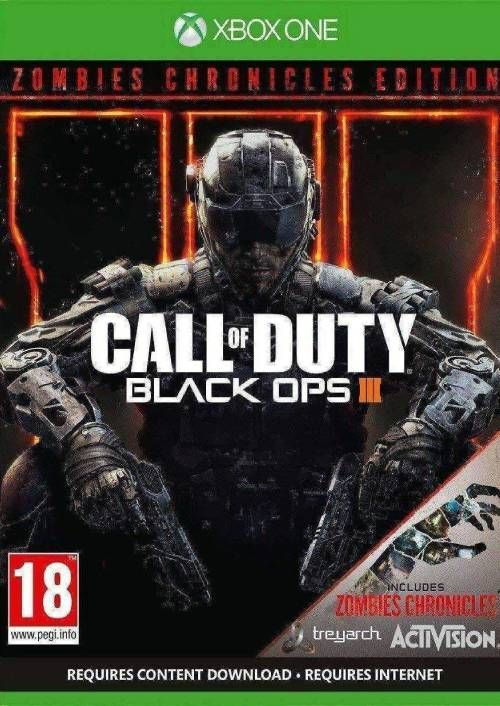 Call Of Duty Black Ops Iii Zombies Chronicles Edition Uk
