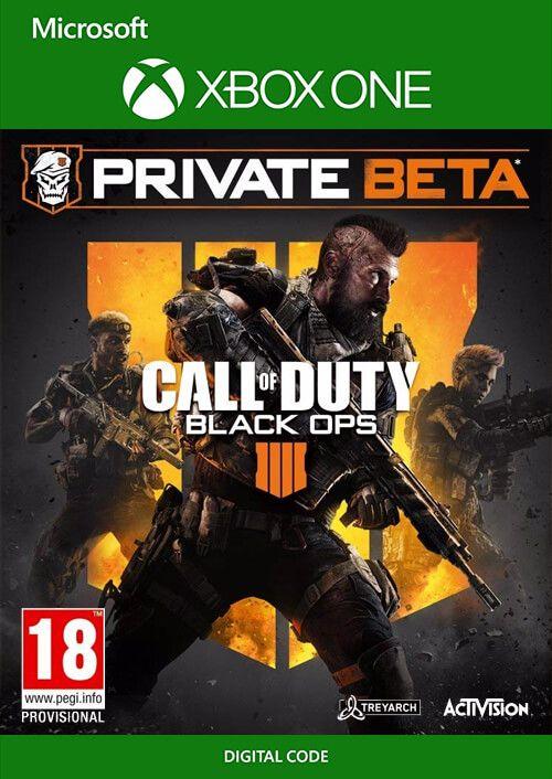 Call of Duty (COD) Black Ops 4 Xbox One Beta
