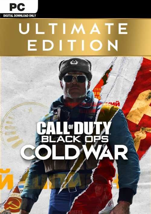 Call of Duty Black Ops Cold War - Ultimate Edition PC (EU)