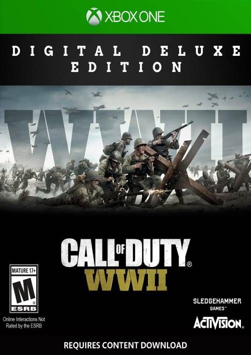 Call of Duty WWII - Digital Deluxe Xbox One (UK)