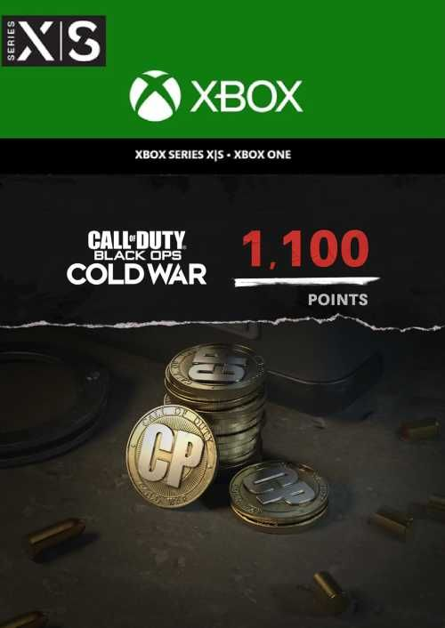 Call of Duty: Black Ops Cold War - 1,100 Points Xbox One/ Xbox Series X|S