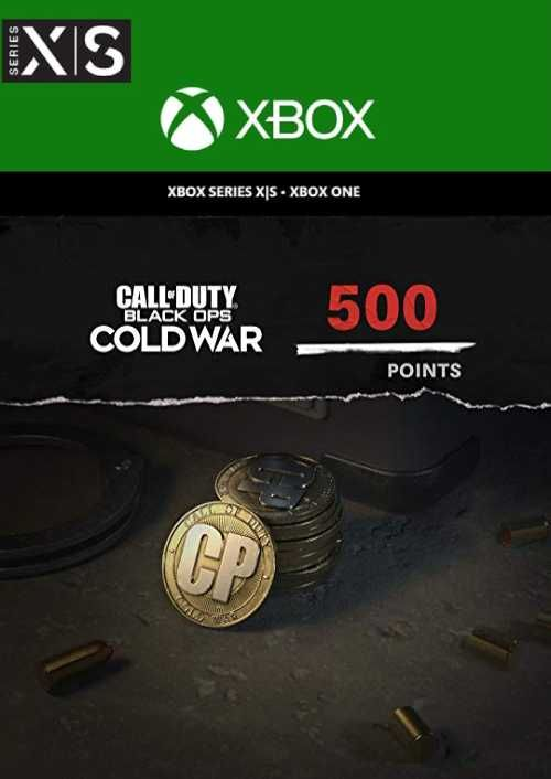 Call of Duty: Black Ops Cold War - 500 Points Xbox One/ Xbox Series X|S