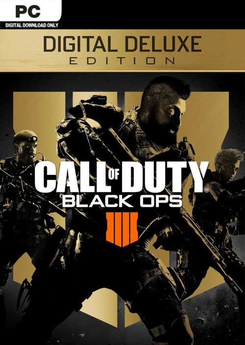 Call of Duty (COD) Black Ops 4 Deluxe Edition PC (US)