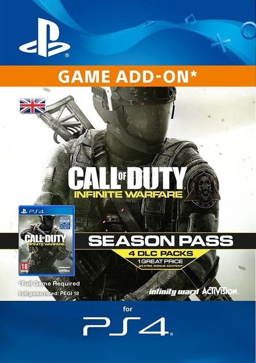 Call of Duty (COD) Infinite Warfare - Season Pass PS4