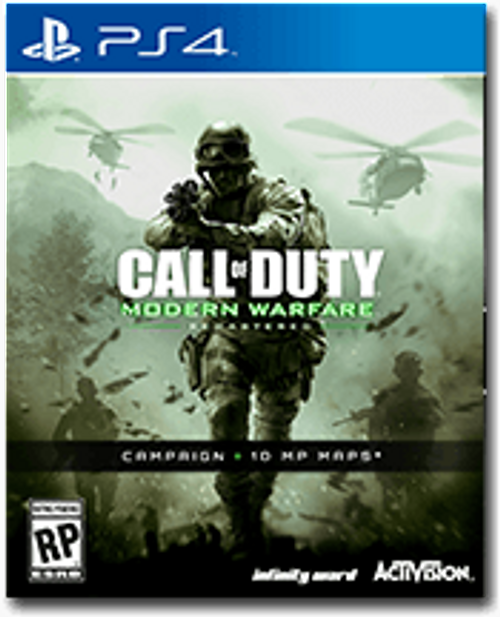 Call of Duty (COD) Modern Warfare Remastered PS4 - Digital Code