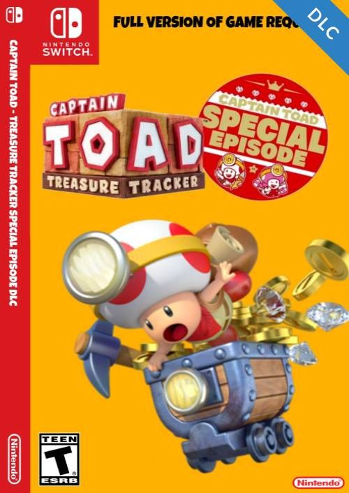 Captain Toad Treasure Tracker - Special Episode Switch DLC