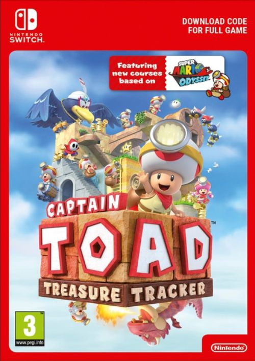 Captain Toad: Treasure Tracker Switch