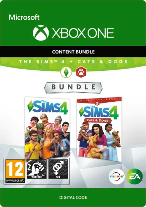 The Sims 4 - Cats and Dogs Bundle Xbox One