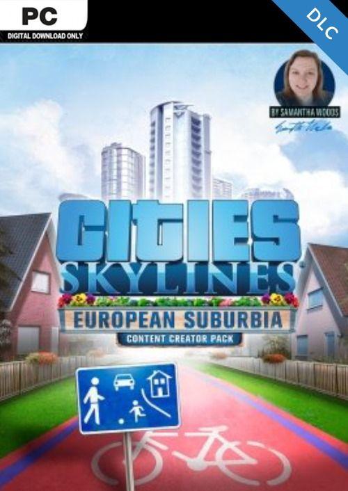 Cities Skylines - Content Creator Pack European Suburbia DLC