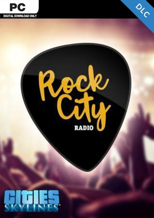 Cities Skylines - Rock City Radio DLC