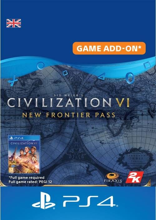 Sid Meier's Civilization VI  - New Frontier Pass PS4 UK