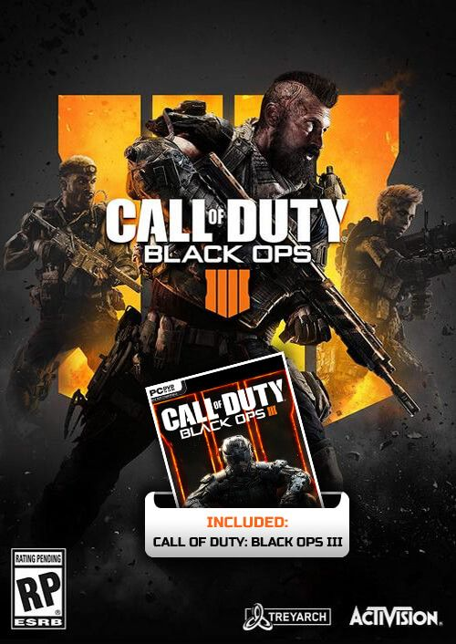Call of Duty Black Ops 4 Inc Black Ops 3 PC