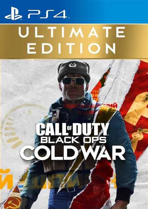 Call of Duty Black Ops Cold War - Ultimate Edition PS4/PS5 (EU)