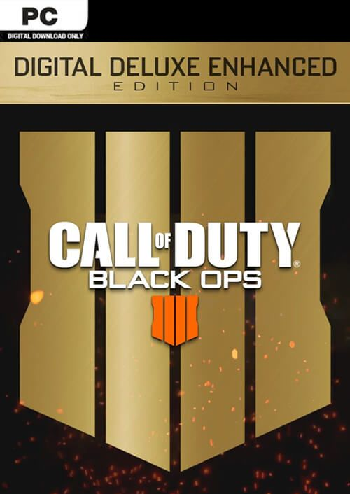 Call of Duty (COD) Black Ops 4 Deluxe Enhanced Edition PC (EU)