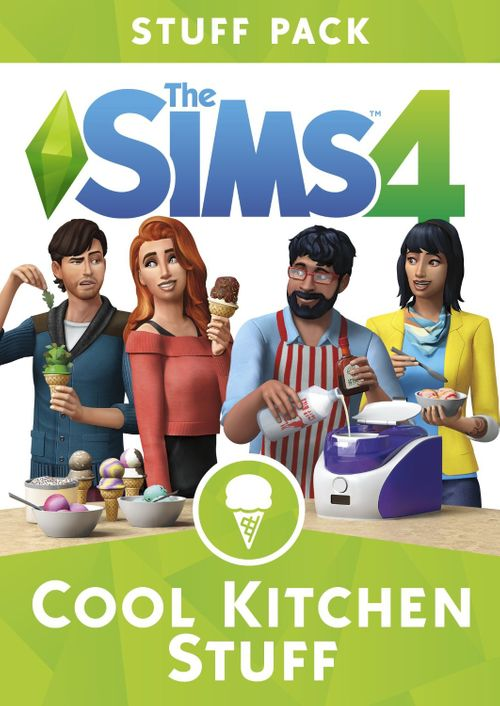 The Sims 4 Cool Kitchen Stuff PC