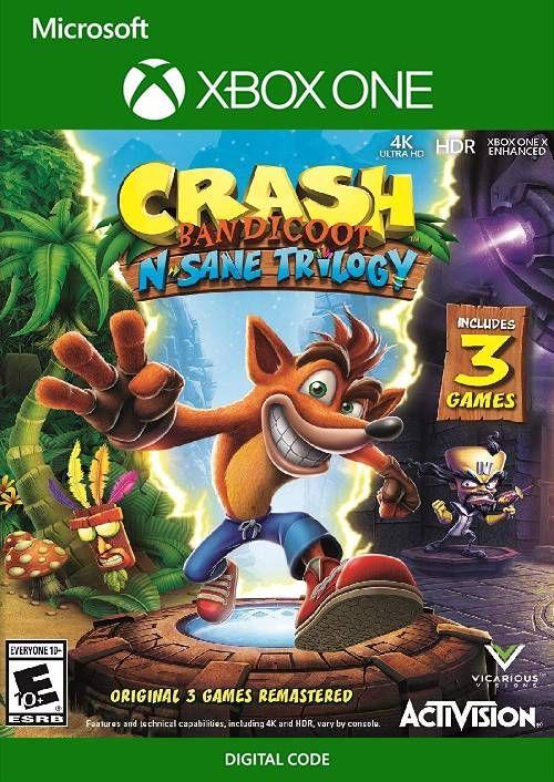 Crash Bandicoot N. Sane Trilogy Xbox One (US)