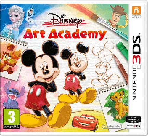 Disney Art Academy 3DS - Game Code