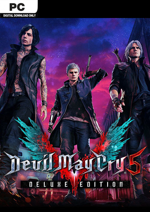 Devil May Cry 3 Cover