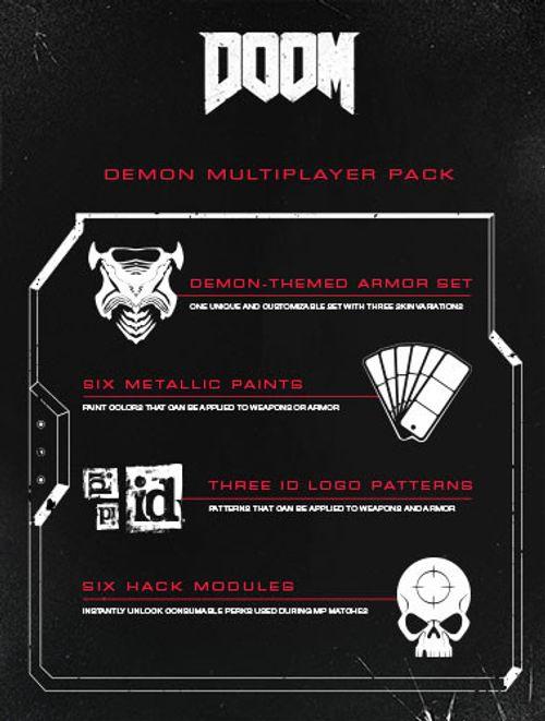 Doom Demon Multiplayer Pack DLC PC