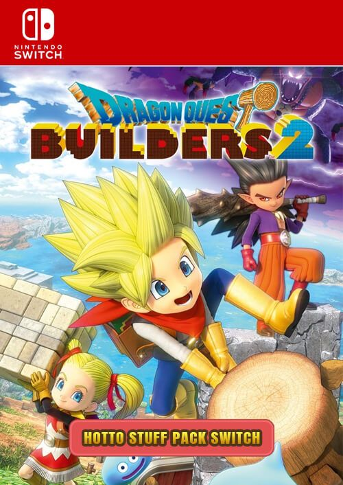 Dragon Quest Builders 2 - Hotto Stuff Pack Switch