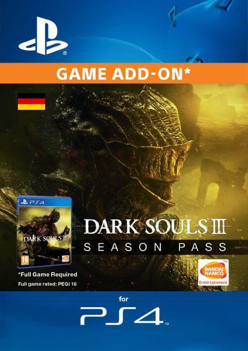 Dark Souls 3 Season pass PS4 (Germany)