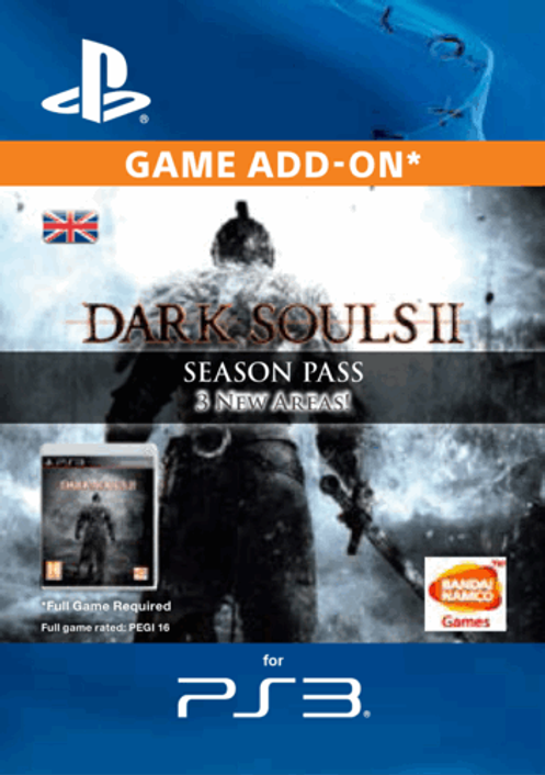 Dark Souls II 2 Season Pass PS3